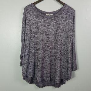 41 Hawthorne Marbeled Knit Sweater Size Large